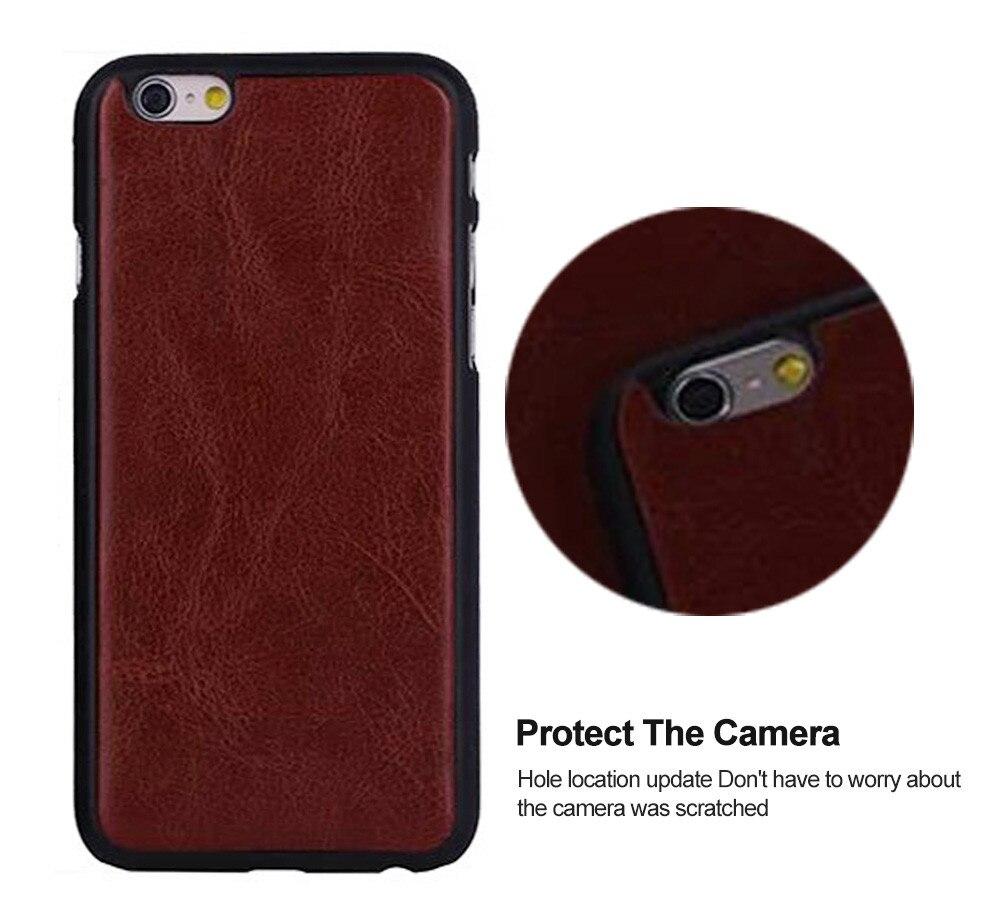 För iPhone 6s Fodral Läderplånbok Fotoram 9 kortspalthållare Flip - Reservdelar och tillbehör för mobiltelefoner - Foto 5