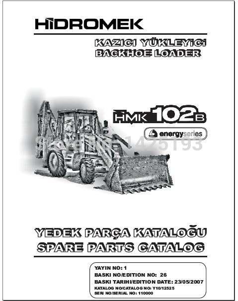 US $74.0 26% OFF|Hidromek spare part catalogs, Hidromek service manual, on