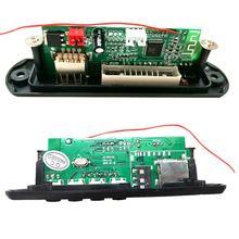 New Wireless Bluetooth 12V MP3 WMA Decoder Board Audio Modul