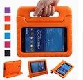 Children Safe Kids Grosso Foam Choque Prova EVA Lidar Com Stand caso para samsung galaxy tab 4 7.0 t230 t231 capas tablet + stylus