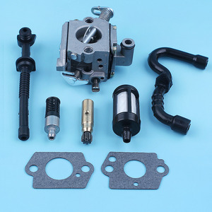 Image 5 - Carburetor Oil Pump Fuel Oil Line Filter For STIHL MS170 MS180 017 018 MS 170 180 Replace Zama C1Q S57B w/ Carb Gaskets