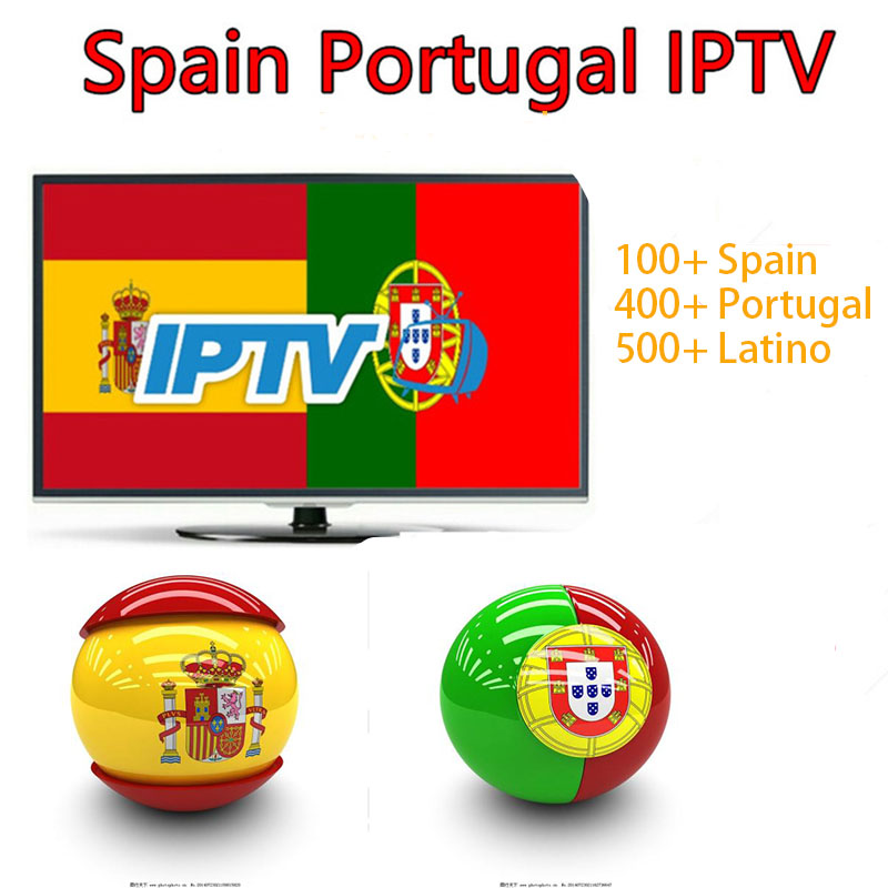 1 full year IPTV Portugal Spain IPTV French Netherlands Norway Germany Italy Latino UK IPTV HD m3u android enigmas2 smart tv box-in Set-top Boxes from Consumer Electronics