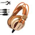 Fones de ouvido de jogos XIBERIA V10 Computador Jogo Headset écouteur Estéreo com Microfone LED Light Para PC Gamer