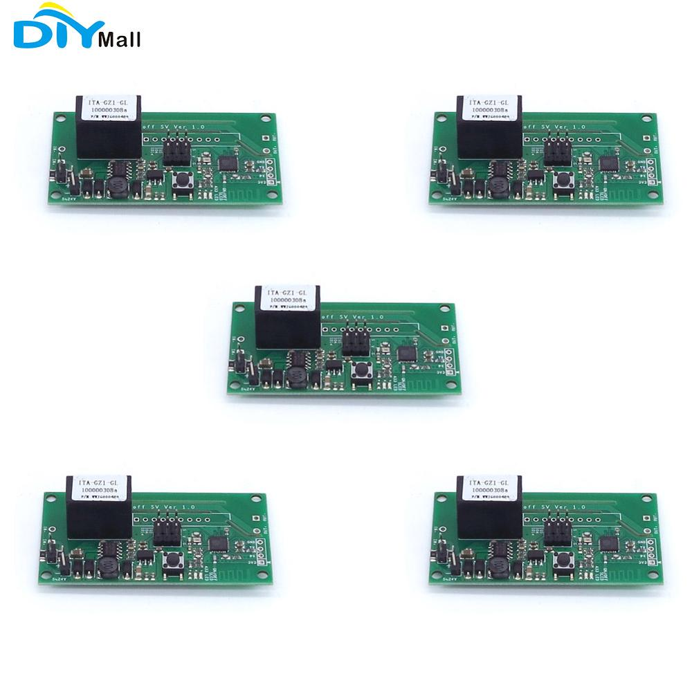 5pcs Sonoff SV Safe Voltage WiFi Wireless Switch Smart Home Module Support Secondary Development DIYmall