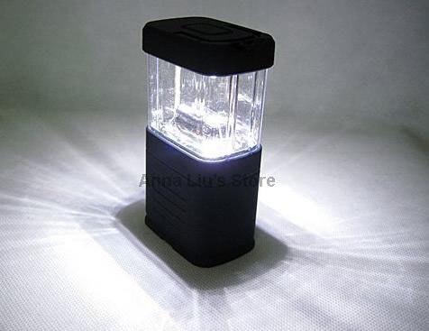 11 LED Handheld Camping Light Night Light Portable Lamp & 50PCS/Lot DHL/UPS/FEDEX/EMS Free Shipping
