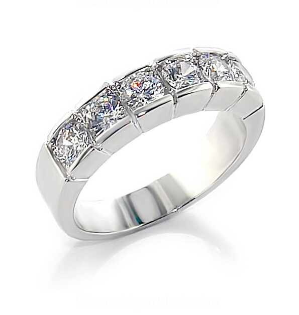 925 Sterling silver sona Simulated diamond engagement rings For Women,wedding band,promise rings,eternity band (BB)