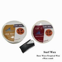 купить Natural Surfboard Base wax+Tropical wax+surf wax comb surf wax for surfing sport дешево