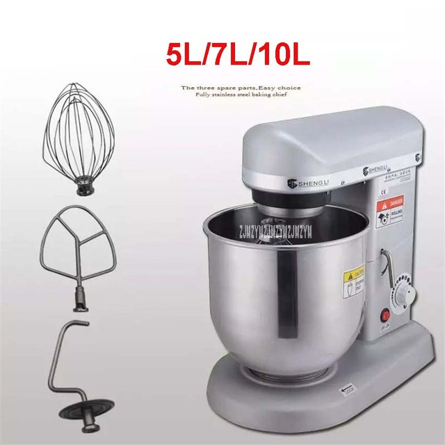 US $182.58 6% di SCONTO|5.7, 10 Litri Elettrico Del Basamento Del Robot Da  Cucina, SL B10 di Cottura Planetario Mixer, Frullino per le uova, impastare  ...