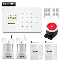 Kerui G18 Android IOS App Control Wireless Security System Gsm Alarm System Wireless Magnetic Window Sensor