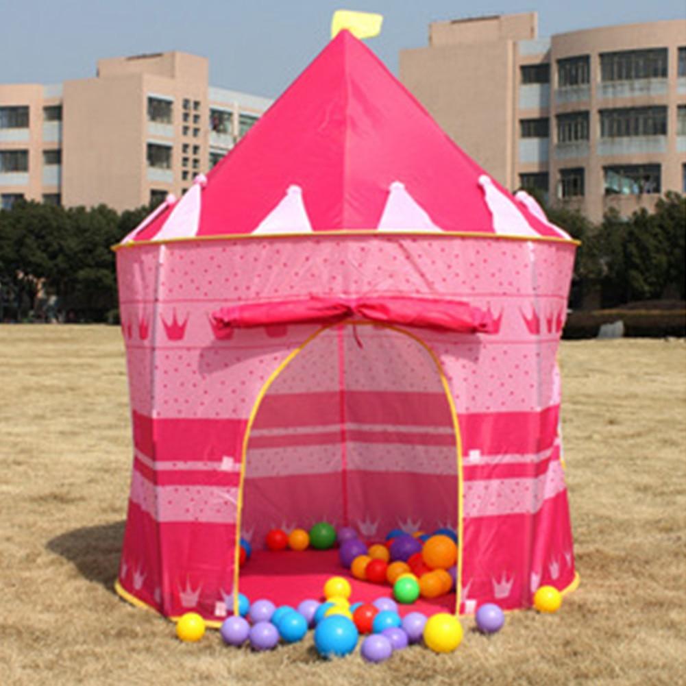 nueva princesa encantadora magia divertido castillo kid nio beb juego carpa casa de juegos de interior tienda de picnic den pi