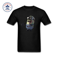 2017 Newest Fashion Funny Customize Solid Zombie Minions And The Walking Dead Funny Cotton T Shirt