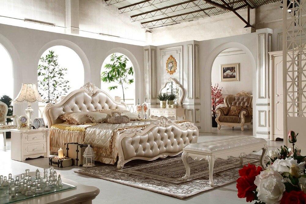 っF81103 dormitorio moderno muebles precio de fábrica cama de madera ...