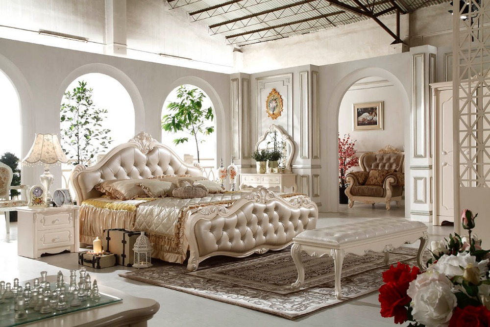 F81103 moderne slaapkamer meubilair fabriek prijs franse stijl