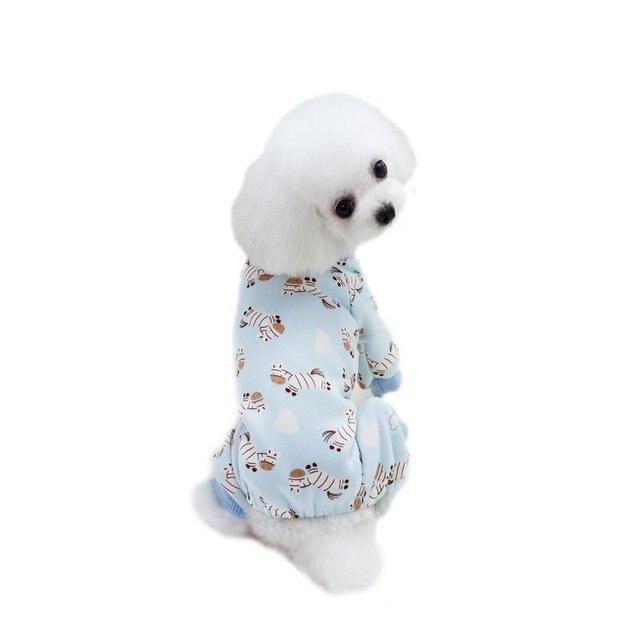 Neue Kleidung Für Hunde Dick Gedruckt Zebra Lollipop Muster Vier ...