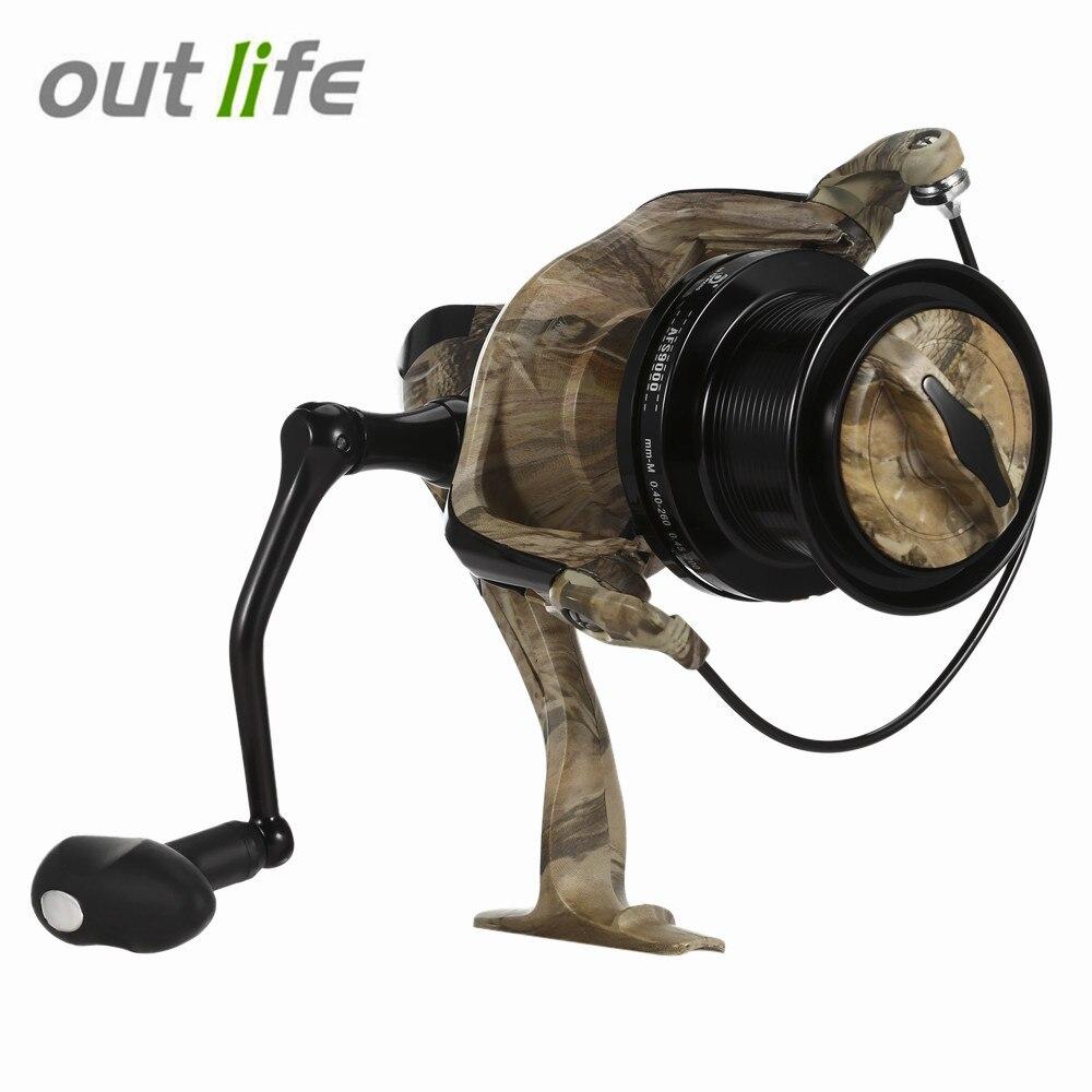 Outlife Outlife AFS5000 - 10000 13 BB Spinning <font><b>Fishing</b></font> <font><b>Reel</b></font> Aluminium Alloy Automatic Folding Rocker Arm