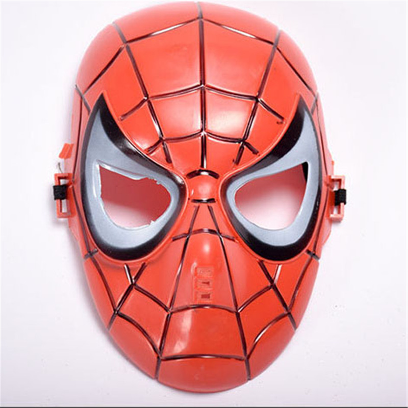 1PCS Childrens Spiderman Mask Toddler Boys Avenger Marvel Masks Batman Party Cartoon Mask FA7