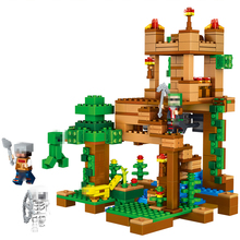 410pc My world Camilla Village Compatible Legoed Building Blocks minecrafted Bricks Educational Toys for Children Action figures