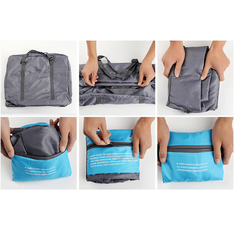 Travel Duffle Bag Нейлон Қаптамасы Cubes Үлкен - Багаж және саяхат сөмкелері - фото 2