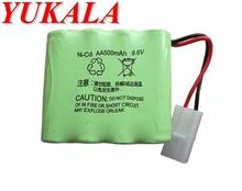YUKALA RC car RC boat HQ781 HQ782 RC tank 9.6V 500mAh N-CD AA Battery Free shipping