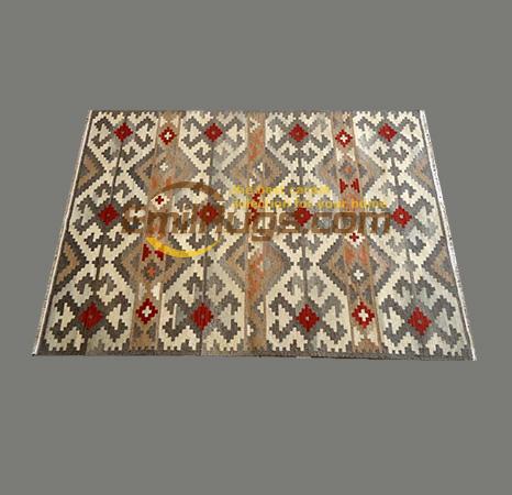 Iran importé pure laine à la main kilim tapis salon chambre tapis japonais style minimaliste gc126-12yg4