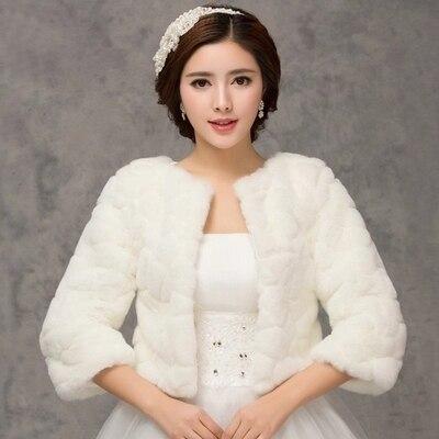 2020 inverno noiva envoltórios de pele do casamento, jaqueta bolero de noiva baratos, tampas xale, tamanho grande, jaquetas de casamento, bolero de pele falsa