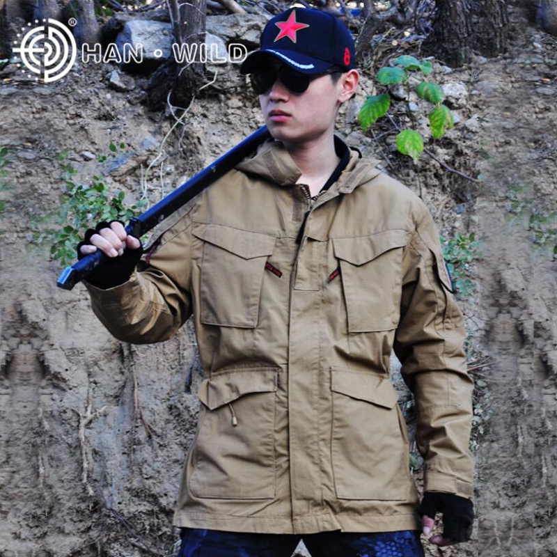 Hiking Clothings M65 Casual Tactical Men Jacket Coat Outdoor Sport Thermal Windproof Windbreaker Airsoft Hunting Clothes