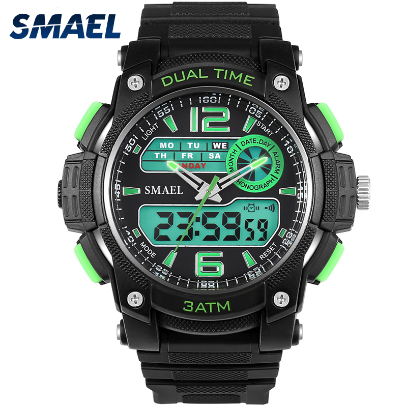 Led Watch Sports Men Military Army Quartz Men Watches with Box Perfect Gift for Boy Friend Automatic S Shock Watches WS1326 цена и фото