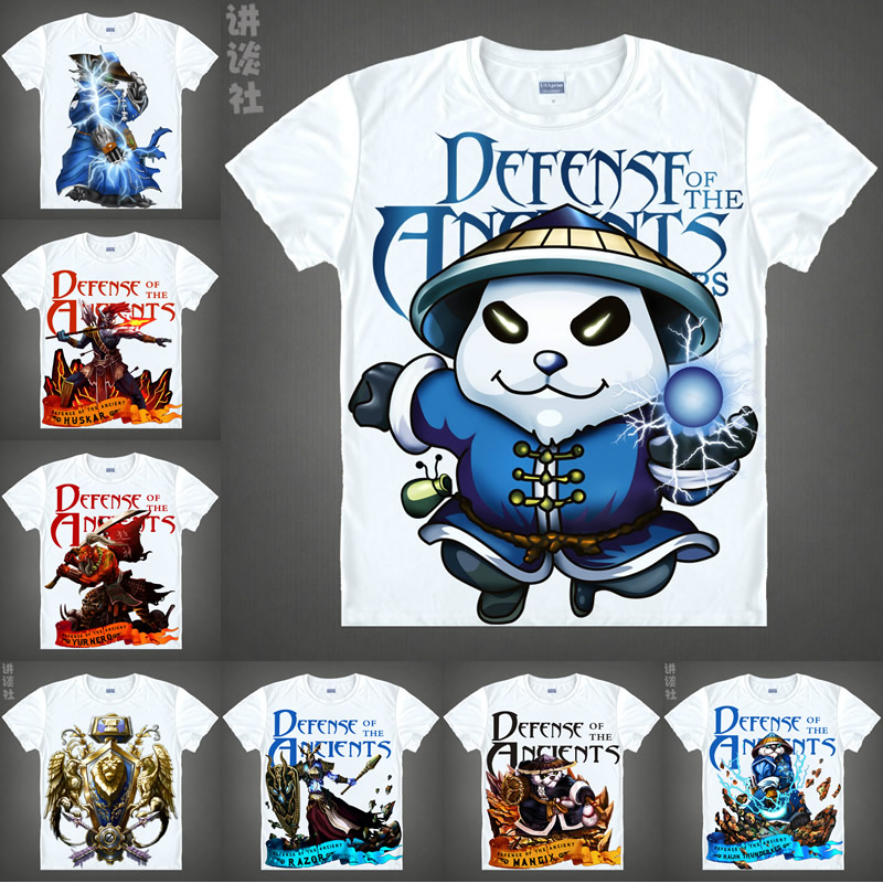 Aliexpress.com : Buy Coolprint Anime Shirt DOTA2 DOTA 2 T ...