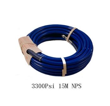 "Professional 15m High pressure hose Airless Paint Sprayer 3300psi 49 feet  3/8"" NPSM"