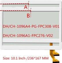 Для BDF планшета MTK 6580 MTK8752 четырехъядерный сенсорный экран panle DH/CH-1096A1 FPC276 V02 DH/CH-1096A4-PG-FPC308-V01 сенсорный экран