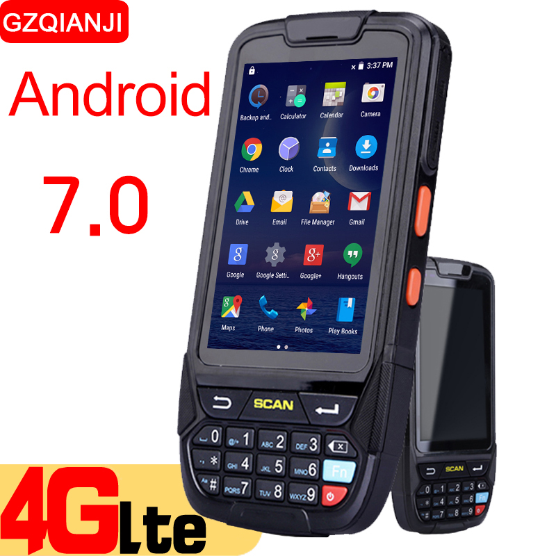 Android 7.0 PDA Handheld data collector pda terminal wifi 1D bluetooth barcode reader scanner 2D inventory management warehouse inventory accounting
