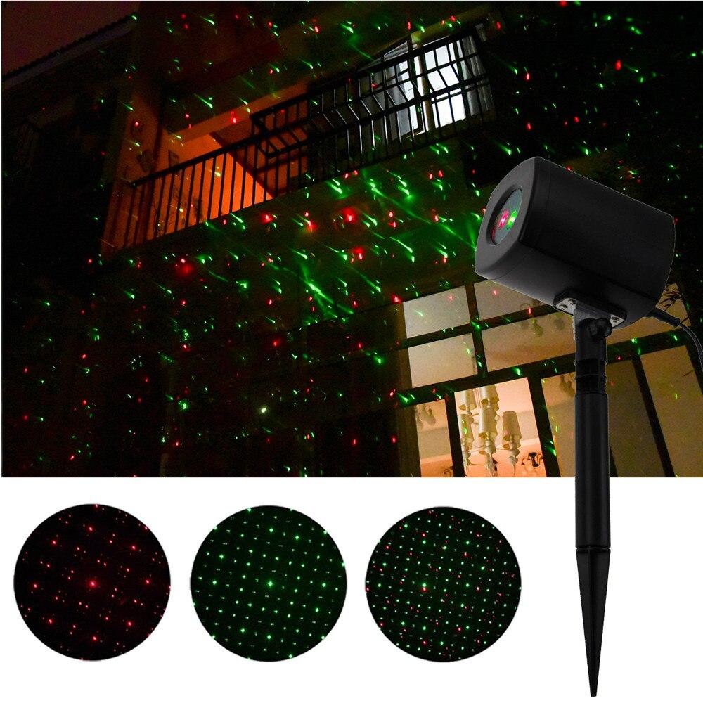Легкие наружные внутренние водонепроницаемые красные и зеленые Ландшафтные огни новогодний светодиодный сценическое праздничное освещение садовое украшение лампа#30