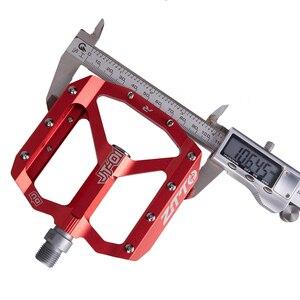 Image 5 - ZTTO vtt roulement en alliage daluminium pédale plate vélo bonne poignée léger 9/16 pédales grand pour gravier vélo Enduro descente JT01