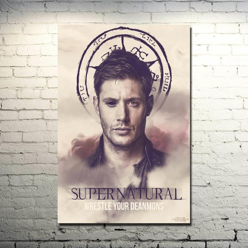 "Jesus Christ VS Satan Art Silk Fabric Poster Print 13x20 24x36/"""