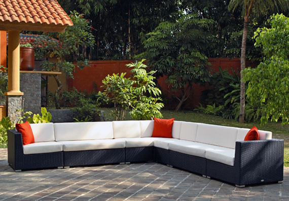 2017 High Quality Waterproof Composite Resin Wicker Patio Outdoor Furniture