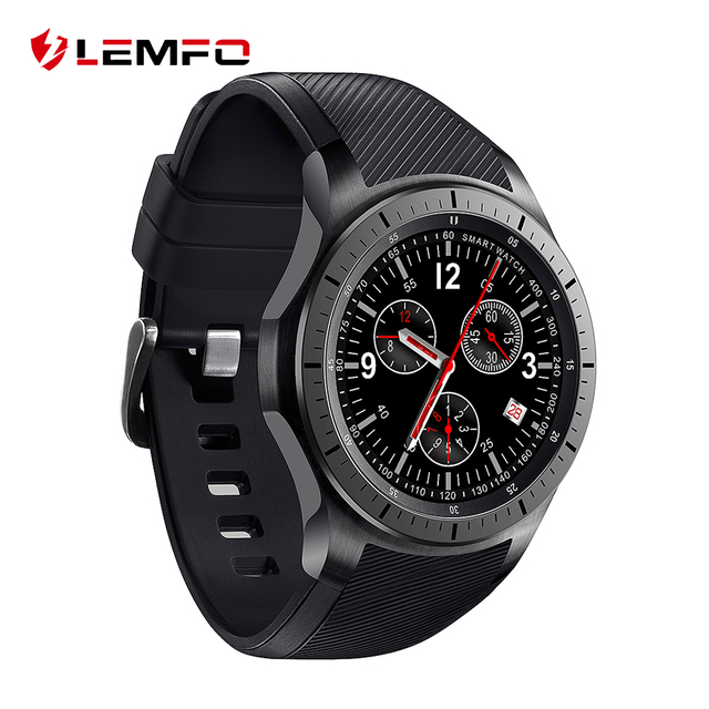Новая Мода LEMFO LF16 Android 5.1 OS Smart Watch 3G WI-FI MTK6580 512 МБ + 8 ГБ Наручные Часы Smartwatch для Android IOS Передач S3 телефон
