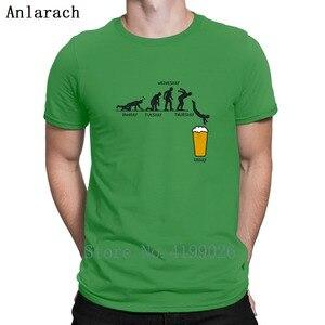 Image 2 - Забавная футболка с надписью Week Craft пиво, официальная креативная футболка европейского размера для мужчин, однотонная Классическая футболка в стиле хип хоп