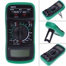 xl830l Digital Multimeter Voltmeter Ammeter AC DC OHM Volt Tester LCD Test Current Multimeter Overload Protection high quality