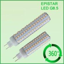 Free shipping 10pcs/lot G8.5 led light 10W 1150LM SMD2835 corn replace 35W Metal halide lamp AC85-265V