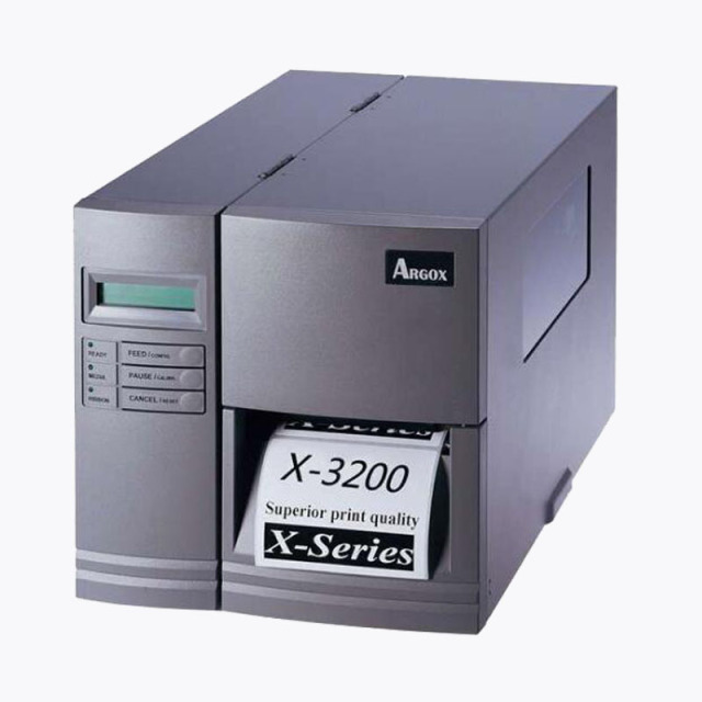 Argox x 3200 industrial barcode printer sticker labels printer with 300dpi hd printing and keeping