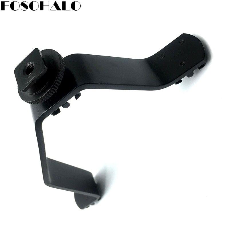 FOSOHALO 3 in 1 Triple Flitsschoen Licht Houder Bracket Stand Voor DV - Camera en foto - Foto 5