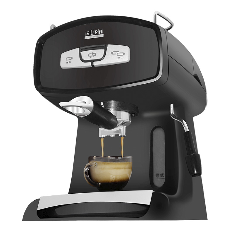 220V Espresso Coffee Maker Steam Semi Automatic 15Bar Intelligent Boiling Coffee Machine Fast Heating With 1.2L Water Tank лампа светодиодная e27 7w 4100k груша матовая 23227а