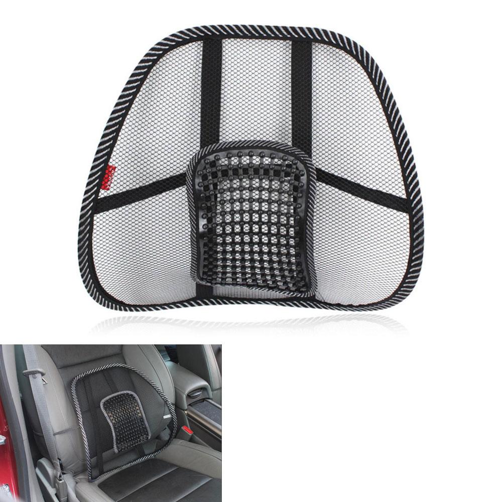 BBQ@FUKA 2pcs Car Seat Chair Waist Massage Back Lumbar
