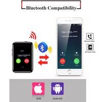 "cell phone screen Super Mini Watch cell Phone AEKU i5S 2.2"" Screen sport pedometer phones 450mAh Bluetooth MP4 MP3 Small Mobile Phone (3)"