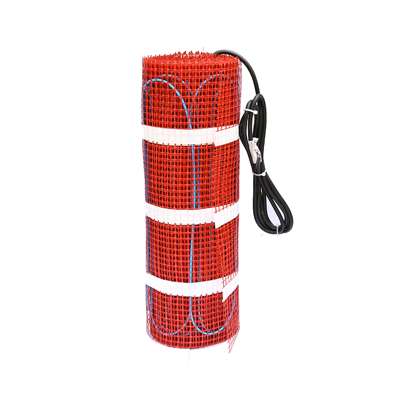 600W 4.0sqm Longlife Time Twin Core Cable Floor Heating System With Different Thermostats For Wooden Floor Free Shipping