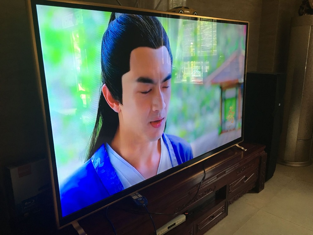 Explosion-proof KTV PC inch 85 inch 90 95 98 100 inch LCD TV flat-panel smart 4K <font><b>HD</b></font> lcd led TV <font><b>xxx</b></font> movie <font><b>video</b></font> presentor image