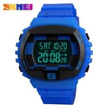 SKMEI Hombres Deportes Relojes Multifunción Countdown Moda Chrono Reloj Digital Resistente Al Agua Relojes de Pulsera Relogio masculino
