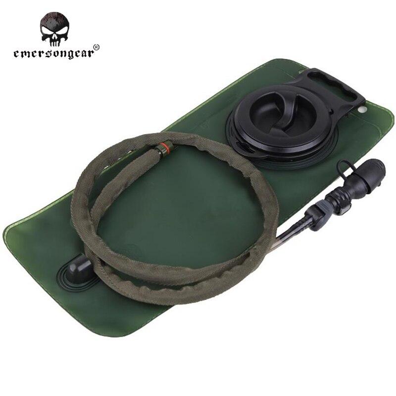 Prix pour Emersongear 2.5L Vessie Avec Interrupteur Tête Voyage Randonnée Camping Emerson Tactique Sac D'eau Olive Noir Tan BD2004