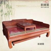 Dongyang океан красного дерева красного дерева палисандр кан ног океан кровать диван мебельный гарнитур