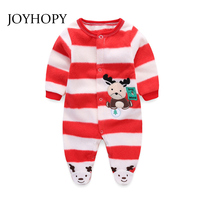 Baby Clothing Polar Fleece Spring Autumn Newborn Jumpsuits Baby Boy Girl Romper Clothes Long Sleeve Cute